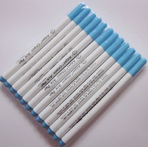 12pcs Vanishing Erasable Ink Felt Tip Adber Chako Ace
