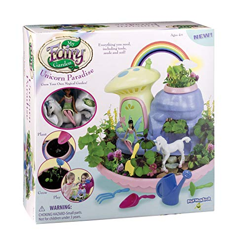 My Fairy Garden Unicorn Paradise - Grow Your Own Magical Garden!