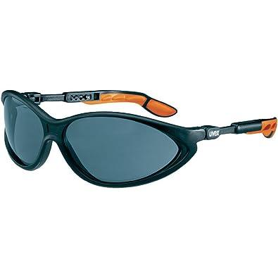 Uvex 9188175Sicherheitsbrille, Cybric, transparent, schwarz