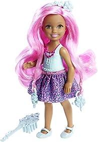 Barbie Endless Hair Kingdom Chelsea Doll, Blue