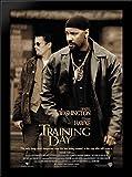 Training Day 28x38 Large Black Wood Framed Print Movie Poster Art
