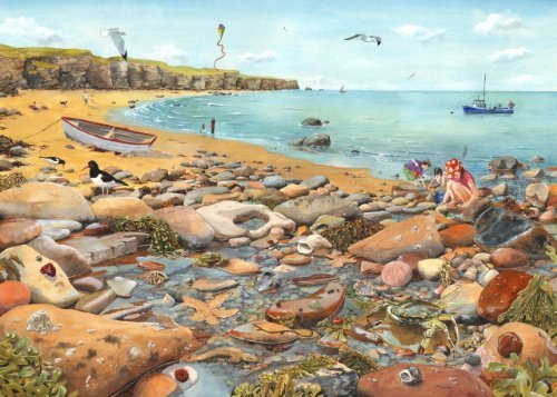 Big 500 Piece Jigsaw Puzzle - Rock Pool NEW FEBRUARY 2014 by The House of Puzzles