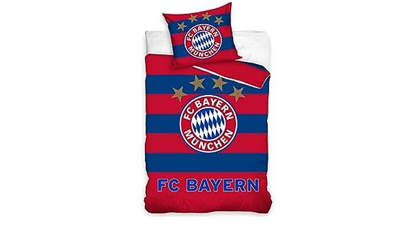 FC BAYERN MUNICH MUNCHEN SINGLE DUVET COVER SETS BOYS GERMAN FOOTBALL CLUB
