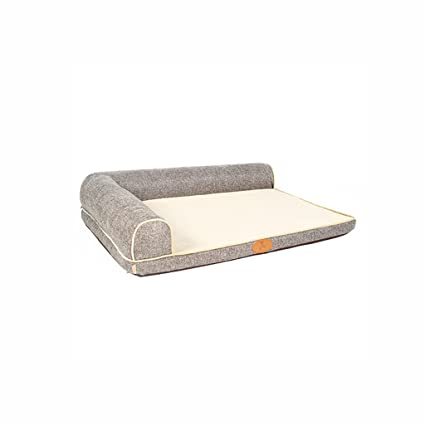 CHONGWFS Cama del Perro Resistente al Desgaste Antideslizante extraíble y Lavable colchón para Mascotas Medio/