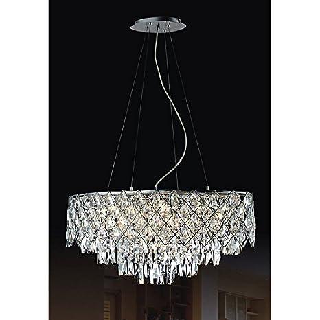 Cristal Lámpara de techo 12 x 40 W/G9 Kate md112815 - 12B ...