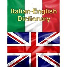 Italian-English Dictionary (Italian Edition)