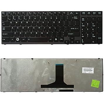 Nuevo teclado para ordenador portátil para Toshiba Satellite P755-S5120 P755-S5278 P755-S5395 psay1u-02 F027 pk130iu2b00 K000120210 9z.n4ygc.