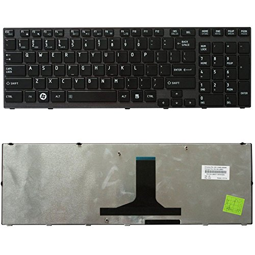 New Laptop Keyboard Compatible Toshiba Satellite P775-S7370 P775-S7372 P775-S7375, US Layout Black Color by ndliulei