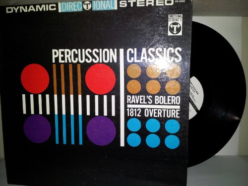 Percussion Classics: Ravel's Bolero and 1812 (Deluxe Percussion Set)