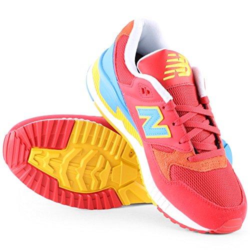 New W530pim azul Mujer amarillo rojo Balance Zapatillas qPqvH