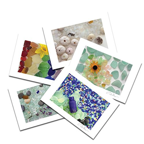 Easter Photo Postcard (Sea Glass Postcard Prints. 10 Pack, 4x6, 2 of Each. Best Quality Gifts, Birthday Cards, Thank You Notes & Invitations. Unique Christmas and Valentine's Gifts for Women, Men and Kids of All Ages)
