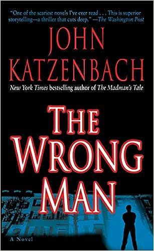 Amazon The Wrong Man A Novel 2015345464842 John Katzenbach