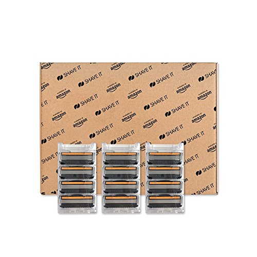 Triple Refill - Shave It Value Triple Blade Refill Cartridges, 12 Count