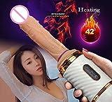 Lovetotoro Remote Control Automatic Machine Thrusting Massage Vibrator Female Pumping Gun Adult Toys for Woman-G4