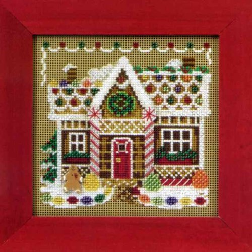 Gingerbread House - Cross Stitch Kit