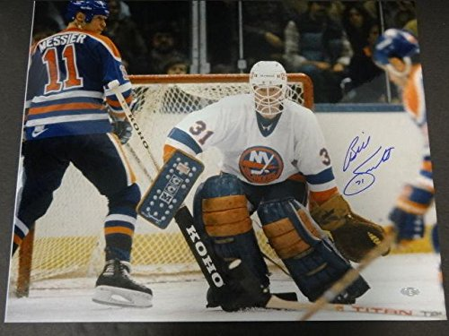 Billy Smith Signed Picture - 16x20 - Steiner Sports Certified - Autographed NHL Photos