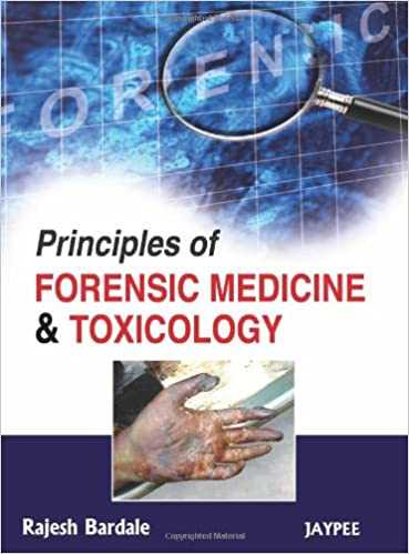 Principles Of Forensic Medicine And Toxicology 9789350254936 Medicine Health Science Books Amazon Com