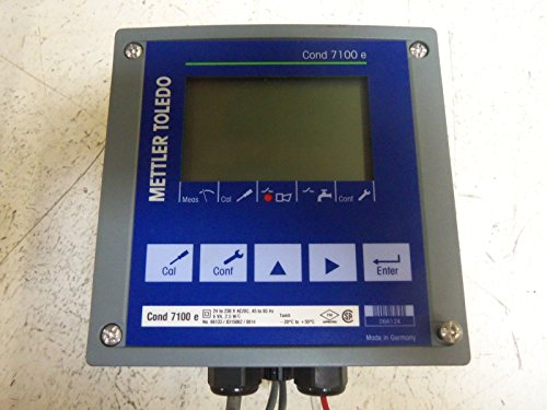 Mettler Toledo Cond 7100 e Conductivity and Temperature Transmitter 24-230V: Amazon.com: Industrial & Scientific
