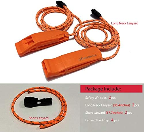 2Pcs 120db Emergency Survival SOS Whistle Camping Hiking Tools Outdoor E1M3