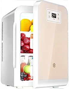 Refrigerator Portable, Desktop Mini bar 22L Mini Compact, Refrigerator with Digital Display, Mini Refrigerator with Low Noise and Insulated car, Freezer (Color : A) (Color : A, Size : -)