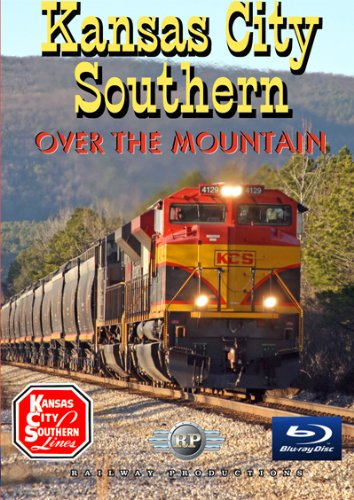 Kansas City Southern Over The Mountain Train Blu Ray  Blu Ray