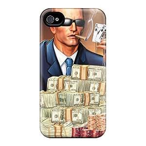 Awesome Duke Nukem Flip Case With Fashion Design For Iphone 4/4s