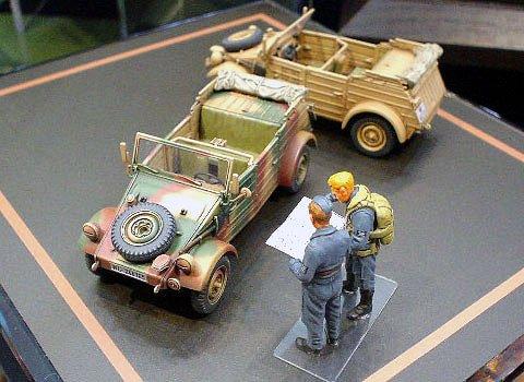 Tamiya Models - 1/48 German Kubelwagen Type 82 Vehicle (Plastic (Tamiya Kubelwagen Type)