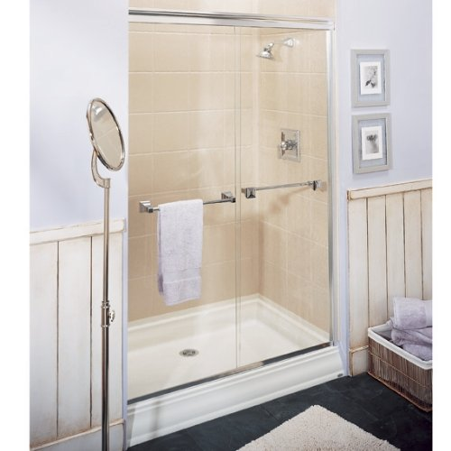 Awesome Amazon.com: American Standard 4834STTS.020 Town Square 48 By 34 Inch  Single Threshold Shower Base With Integral Water Retention, White: Home  Improvement