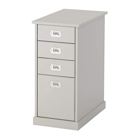 Amazon.com: IKEA 603.537.63 Klimpen - Cajonera de color gris ...