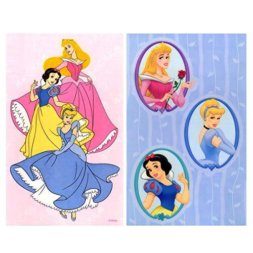 store51.com Disney Princesses - Peel & Stick - 4 Window -
