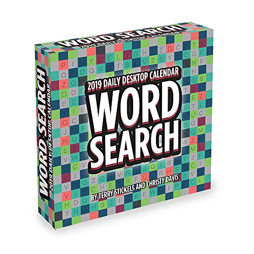 2019 Word Search Daily Desk Calendar Available In Bahrain Manama