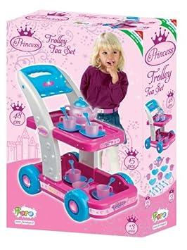 Faro Princess - Carrito para el té de juguete: Amazon.es: Juguetes y juegos