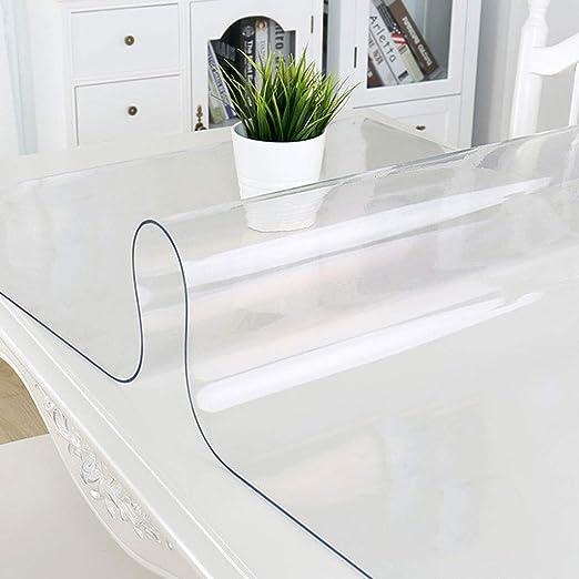1.5mm Grueso Cristalino Transparente Protector de escritorio Pad ...