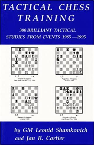 Tactical Chess Training - Shamkovich & Carter  51DlmKd3n8L._SX321_BO1,204,203,200_