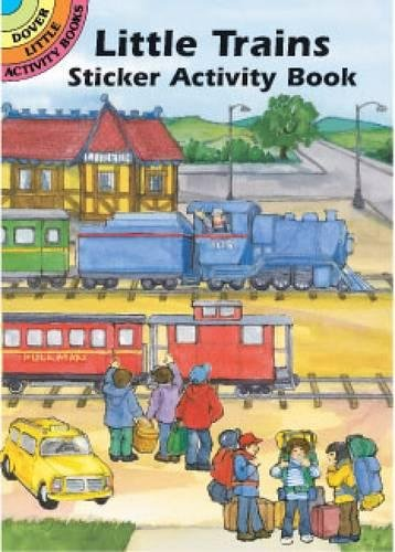 Church Halloween Activities (Little Trains Sticker Activity Book (Dover Little Activity Books)