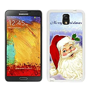 linJUN FENGHot Sell Design Santa Claus White Samsung Galaxy Note 3 Case 1
