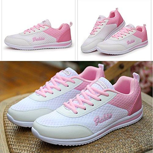 Chaussures Voyage Mode De Loafers Sneaker Femme Blanc Flat wwqAn81C