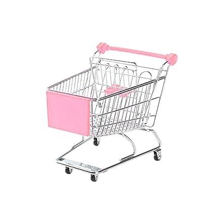 Neckip Juguete con carrito para bebés - Juguete para carrito de compras de niños mini -