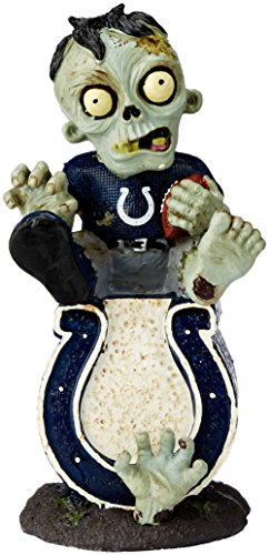 Indianapolis Colts Figurine (NFL Indianapolis Colts Sitting On Logo Zombie Figurine, Blue)