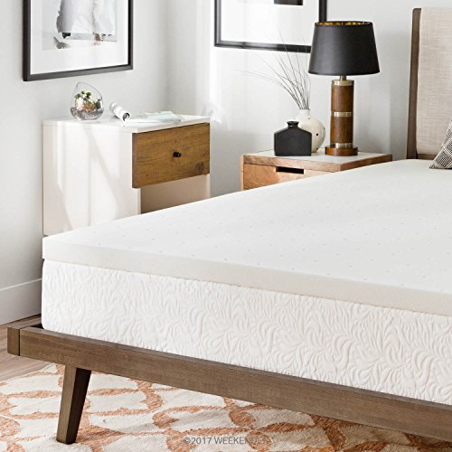 WEEKENDER 2 Inch Memory Foam Mattress Topper - Cal King