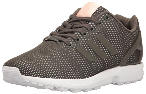 adidas Originals Women's Shoes | ZX Flux Fashion Sneakers, Utility Grey/White, 10 B(M) US