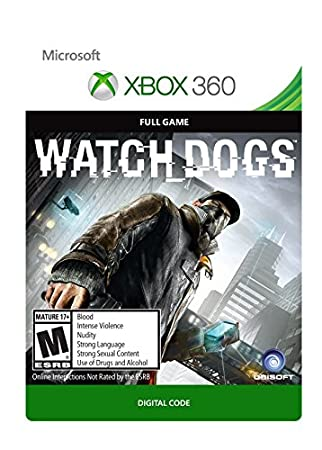 Watch Dogs - Xbox 360 [Digital Code]