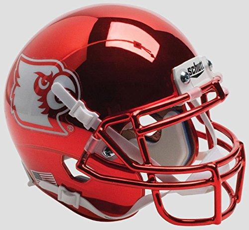 LOUISVILLE CARDINALS NCAA Schutt XP Authentic MINI Football Helmet (RED CHROME)