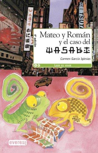 Mateo y Román y el caso Wasabi - García Iglesias, Carmen