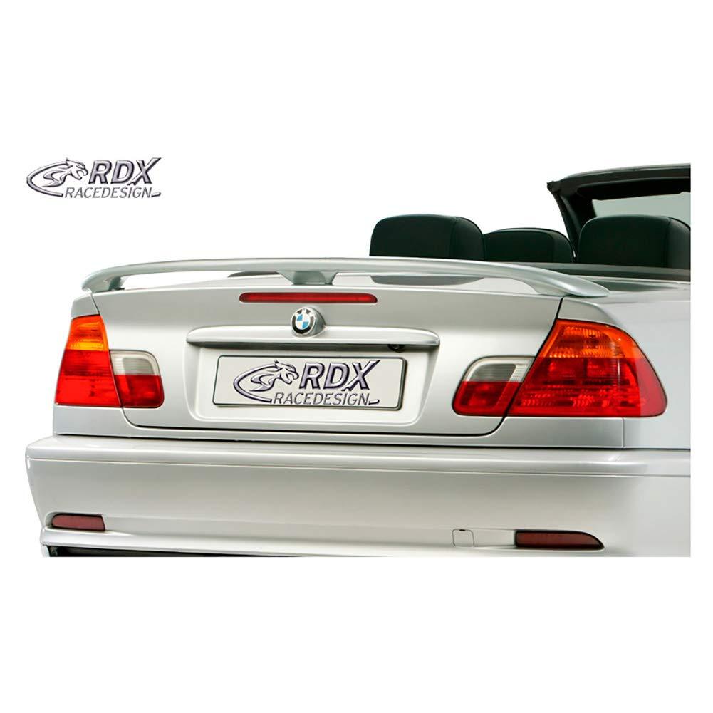 Trunk spoiler 3-Serie E46 Sedan//Coup/é//Cabrio PU