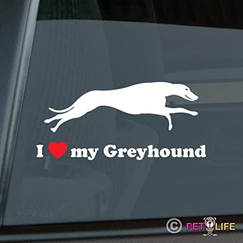 Mister Petlife Got Greyhound Sticker Vinyl Auto Window english