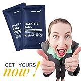 Hot & Cold Reusable Gel Pack Compress Wrap - Pack