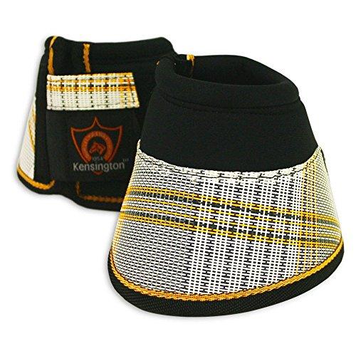 Kensington Easy Wrap Bell Boots, Black/Citrus Slate, Large by Kensington