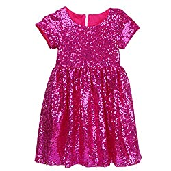 Kids Sequin Party Dress