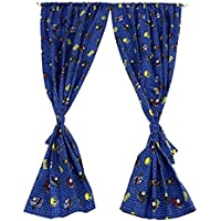 Thomas and Friend Window Curtains For Kids Room, Rod...